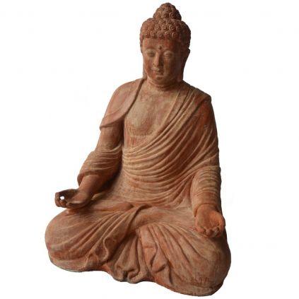 Statue bouddha GRC zen BUDDHA h110cm terra cotta