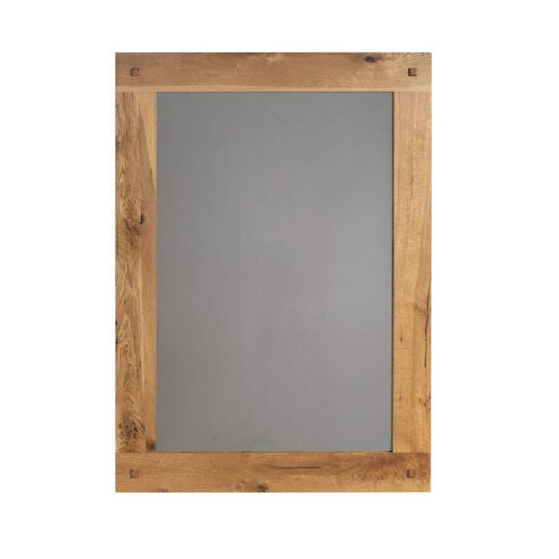 Miroir ch ne brut huil oakwood 110cm for Miroir 110 x 90