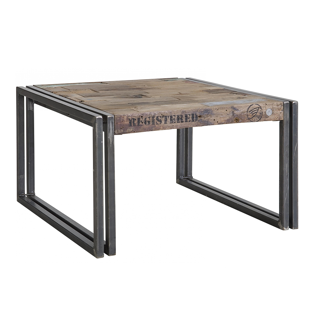 coulisses comment sont fabriqu s les meubles en bois recycl. Black Bedroom Furniture Sets. Home Design Ideas