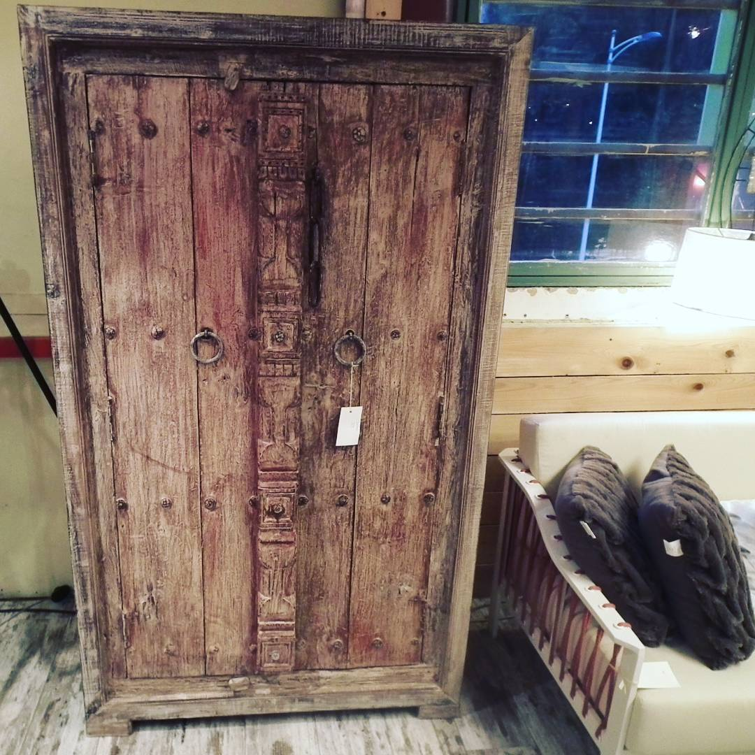 armoire indienne ancienne bois