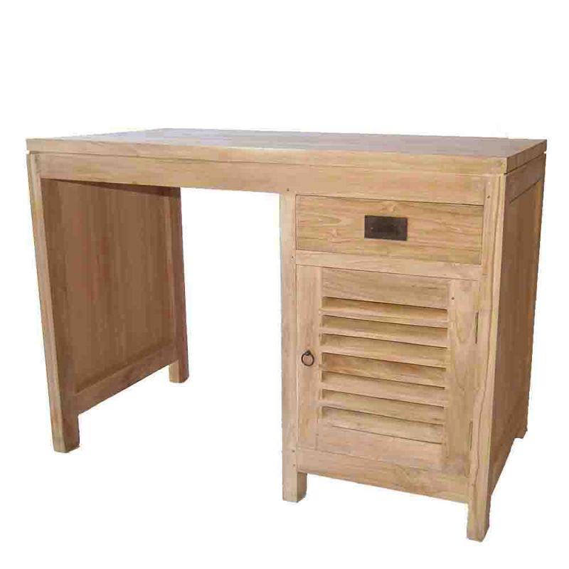 bureau bois brut conceptions de maison. Black Bedroom Furniture Sets. Home Design Ideas