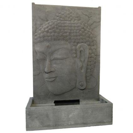 Fontaine de jardin bouddha h155cm BUDDHA pierre et GRC