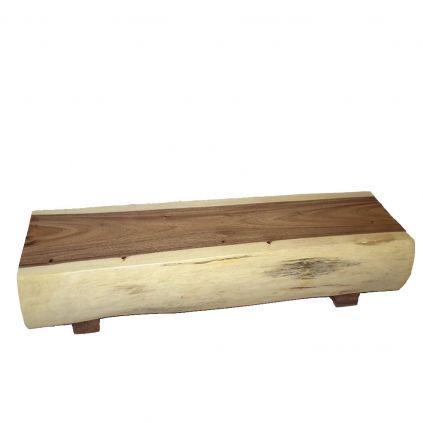 Table basse tronc suar massif SAMANEA 150cm
