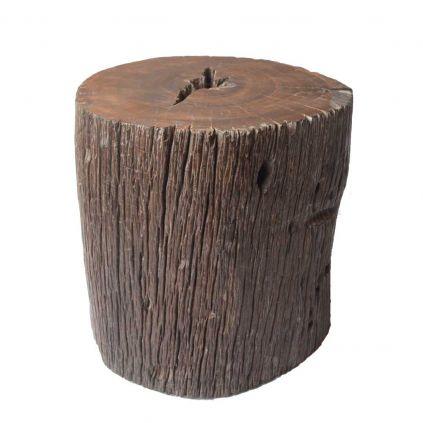 Bout de canapé bois de fer SONO Ø45cm