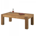 Table basse chêne huilé OAKWOOD 120cm rectangulaire