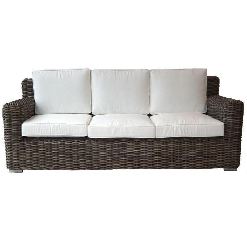 canap rotin ext rieur synth tique haute qualit 210cm. Black Bedroom Furniture Sets. Home Design Ideas