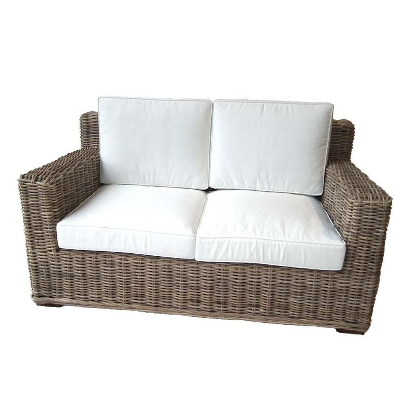 canap en rotin d 39 int rieur fibre naturelle haute qualit 150cm. Black Bedroom Furniture Sets. Home Design Ideas