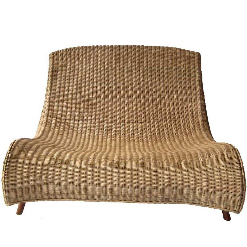 canap rotin int rieur design en fibre naturelle 2 ou 3 places. Black Bedroom Furniture Sets. Home Design Ideas