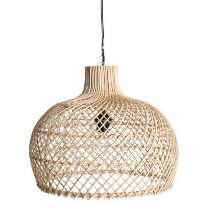Suspension rotin naturel RATTAN