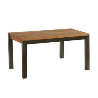 Table industrielle LOFT 150cm chêne et métal