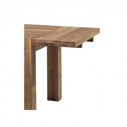 Rallonge table chêne huilé OAKWOOD 50cm