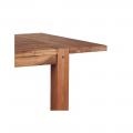 Rallonge table carrée chêne huilé OAKWOOD 40cm