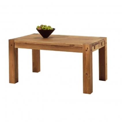 Table chêne massif huilé OAKWOOD 150cm rectangulaire