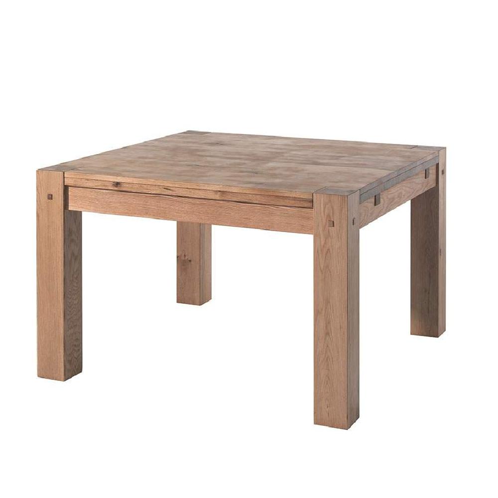 Table Carrée 120×120 Avec Rallonge