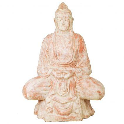 Statue bouddha méditation h150cm BUDDHA GRC terra cota