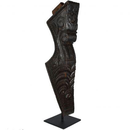 Décoration originale bois TRIBAL h90cm