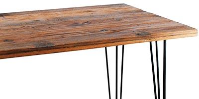 meuble bois recycle vintage