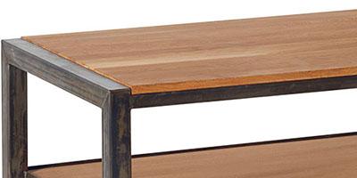 meuble loft bois et metal