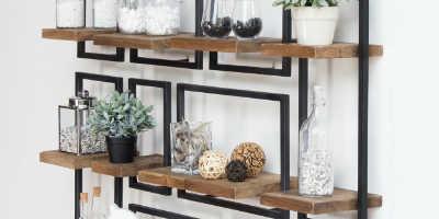 etageres bois metal shelfmate