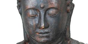statue bouddha jardin