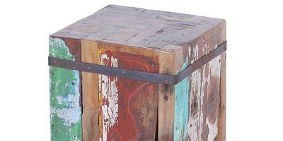 meuble bois recyclé bateau