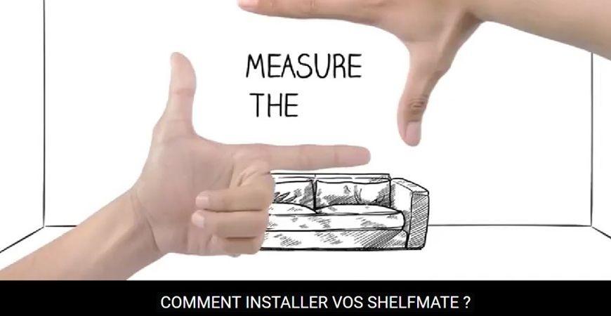 Comment installer les étagères SHELFMATES ?