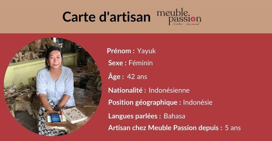 Portrait d'artisan : Rencontrez Yayuk !