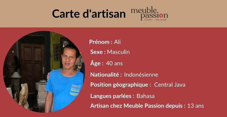 Portrait d'artisan : Rencontrez Ali !