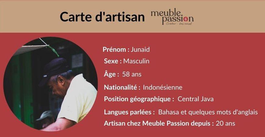 Portrait d'artisan : Rencontrez Junaid !