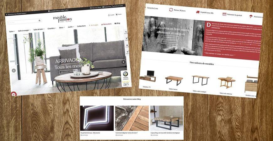 Meuble Passion lance son nouveau site e-commerce
