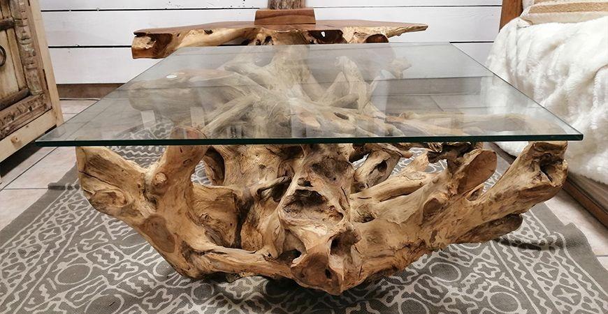Quel meuble en racine de teck pour votre intérieur ?