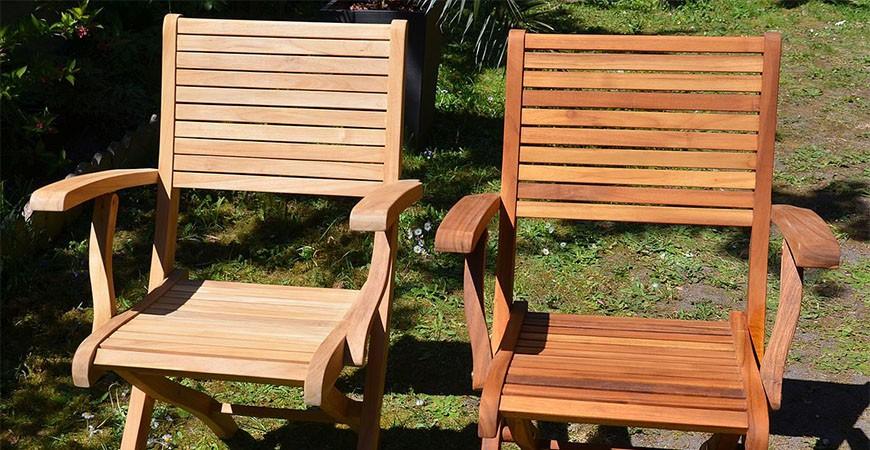 Quelle finition choisir sur son meuble de jardin en teck ?